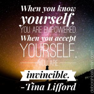 The power of knowing yourself