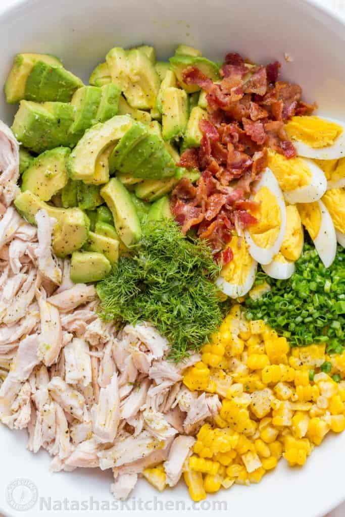 in search of dill for avocado chicken salad
