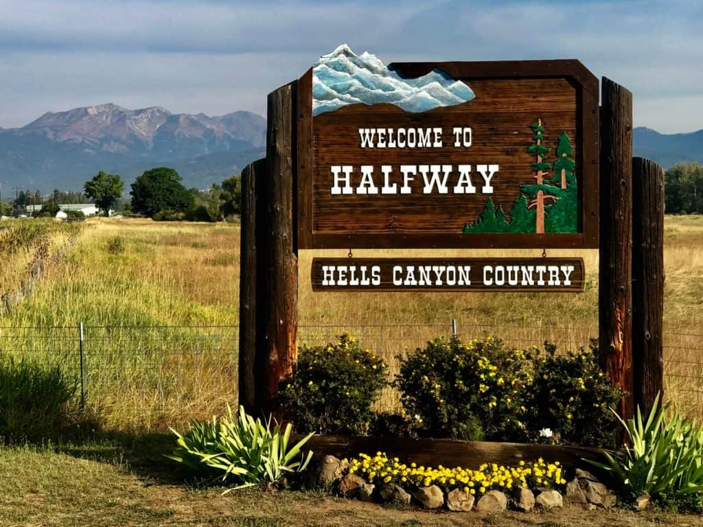 Welcome to Halfway Hells Canyon County