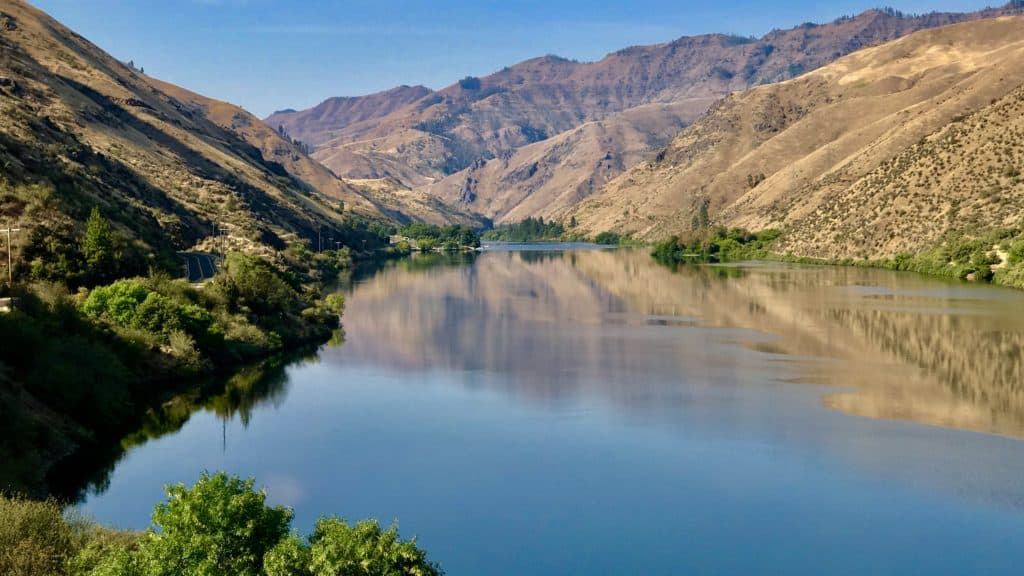 Traveling the Hells Canyon Scenic Byway