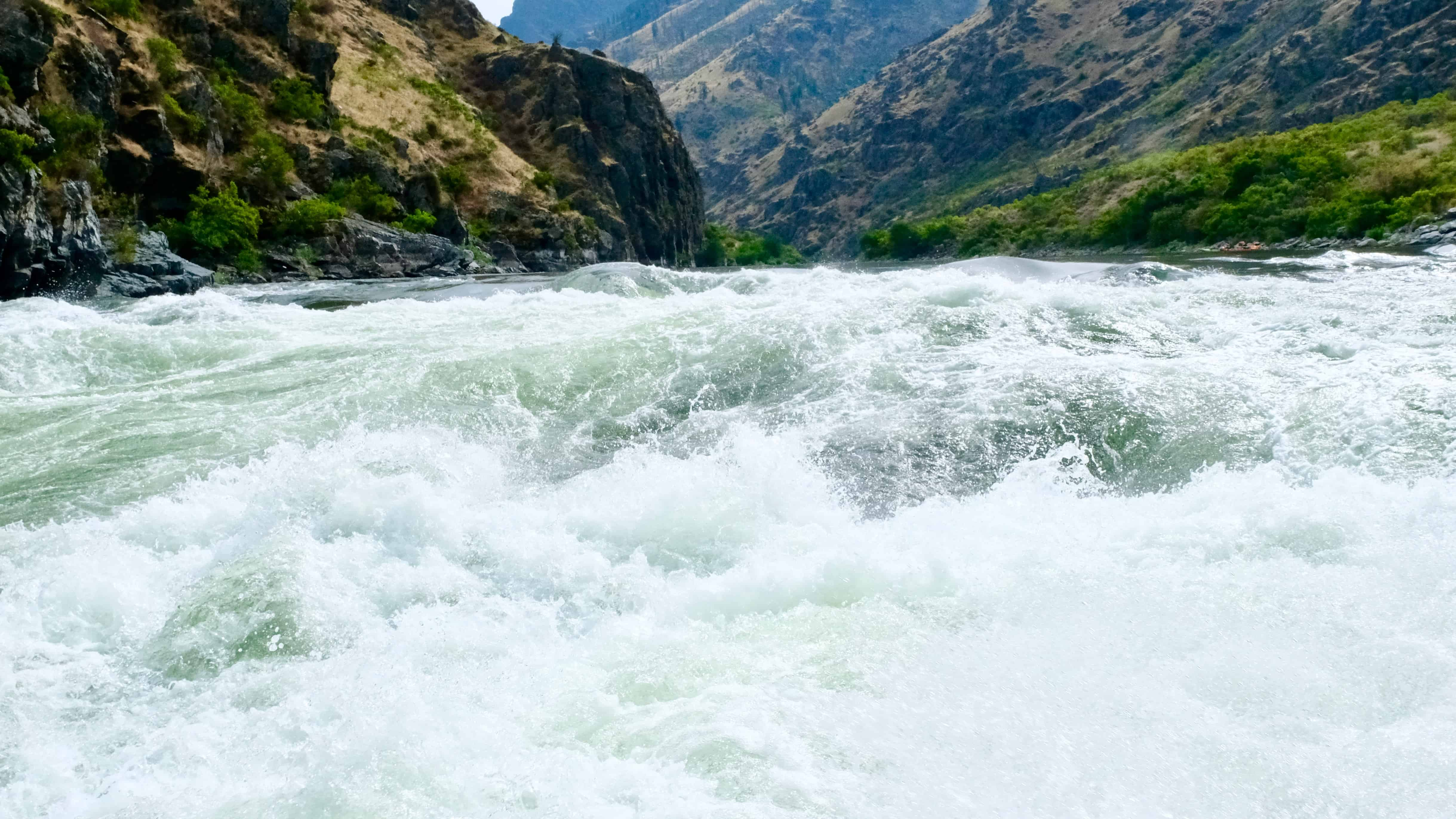 Headed upriver in Hells Canyon