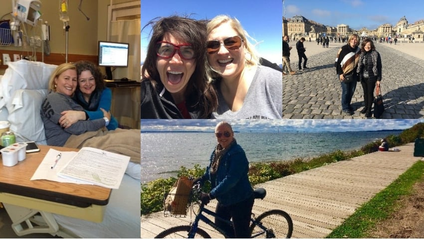 Lisa Milkovitch - From Cancer to 200 miles on a bike