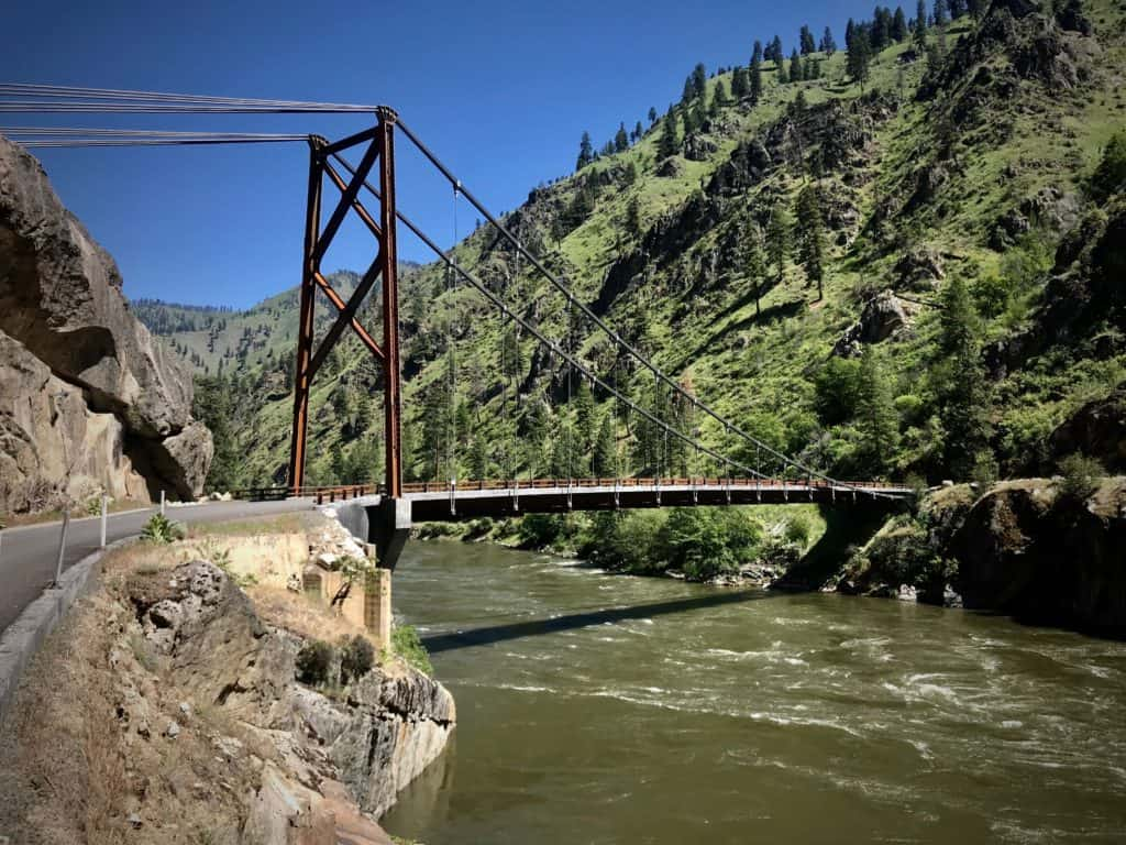 lost in Idaho: river of no return