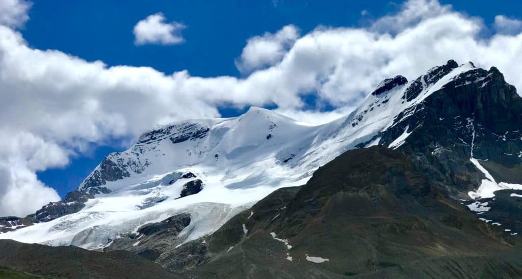 Athabasca Glacier at the Columbia Icefield