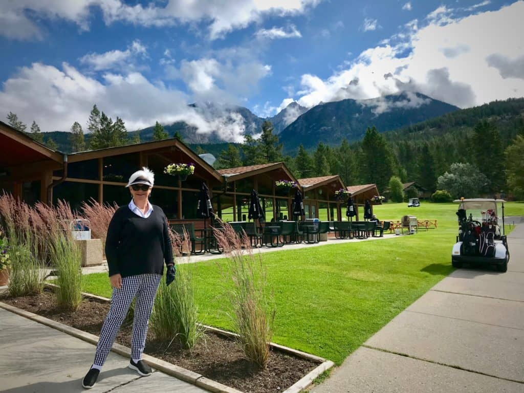 golf at Fairmont Hot Springs