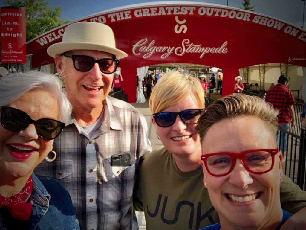 photo blog of the Calgary Stampede
