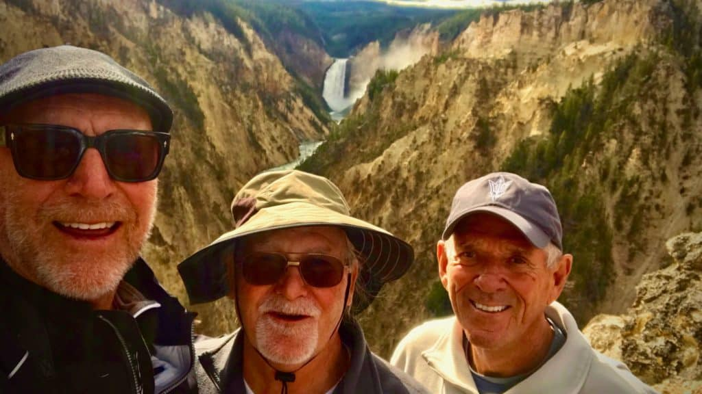 journey with friends at Grand Canyon of the Yellowstone