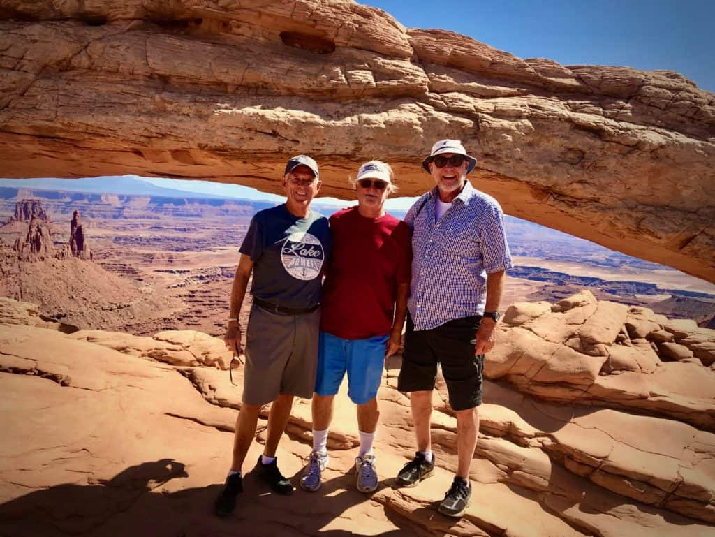 journey with friends at Canyonlands National Park