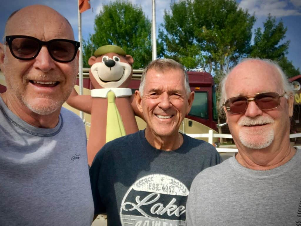 journey with friends in Jellystone RV park